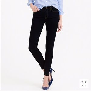 J. Crew Ever Stretch Toothpick Jean in Resin Rinse
